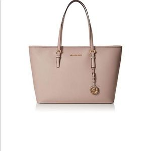 NWT Michael Kors Jet Set Travel Tote Soft Pink